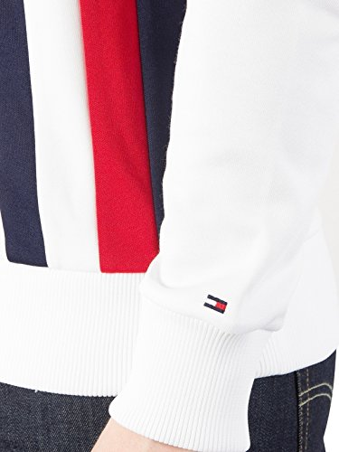 Tommy Hilfiger Men's Sporty Tech Zip Jacket, White, Small by Tommy Hilfiger (Image #7)