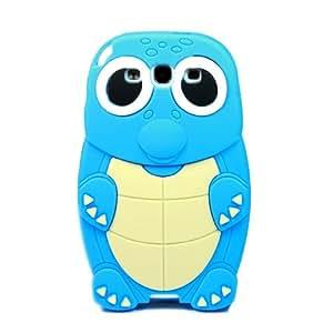 niceeshop(TM) Funda Carcasa Case de 3D Tortuga Lindo de Silicona para Samsung i9300 con una protector de pantalla
