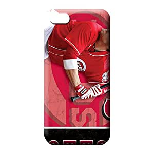 iphone 5 5s First-class Protection Protective mobile phone carrying cases cincinnati reds mlb baseball