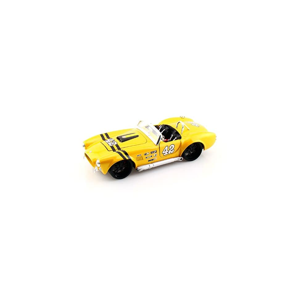 1965 Ford Shelby Cobra 427 1/24 Yellow
