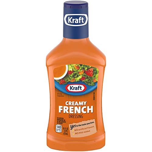 (Kraft Creamy French Salad Dressing, 16 fl oz Bottle)