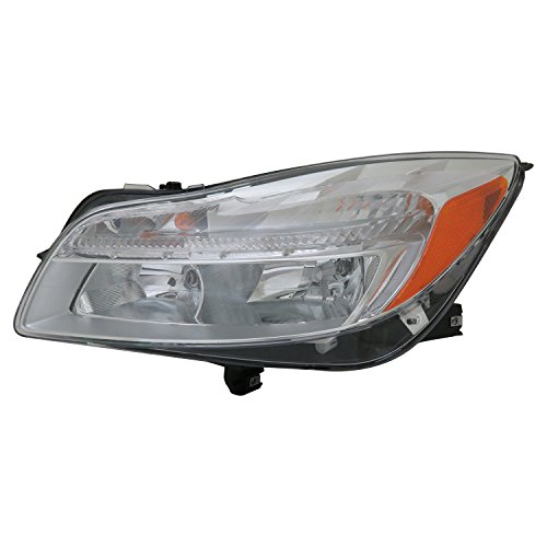 TYC 20-9242-00-9 Replacement Head Lamp (Left Compatible with Buick Regal)
