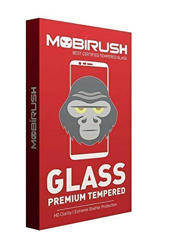 MOBIRUSH Gorilla Tempered Glass Screen Protector for LeEco Le Max 2 Screen guards