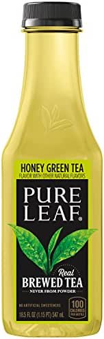 Bottled Tea & Tea Drinks: Lipton Pure Leaf Green Tea