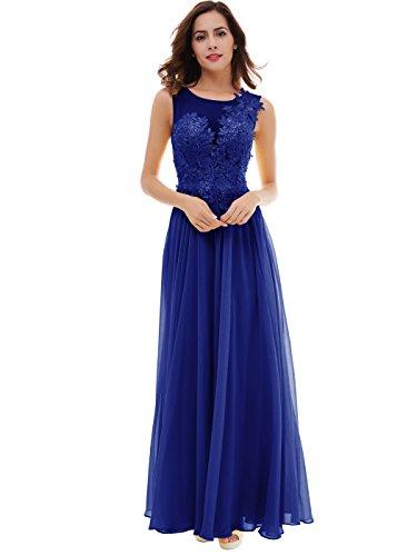 royal blue bridesmaid dresses - 6