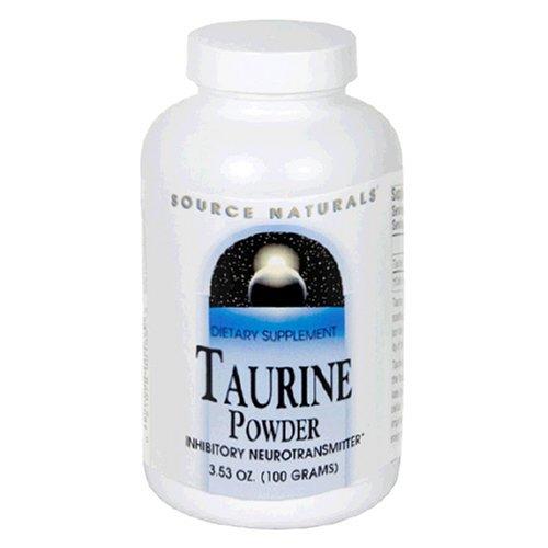 Source Naturals - Taurine, 675 mg, 3,53 oz de poudre