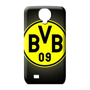 samsung galaxy s4 Shock Absorbing Retail Packaging phone Hard Cases With Fashion Design mobile phone carrying skins borussia dortmund