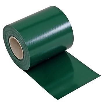 Lámina de protección transparente Noor de PVC para diferentes vallas de jardín, valla de malla de ...