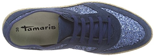 Comb 23670 885 Gl Femme Bleu royal Basses Tamaris Baskets w0dq4n47H