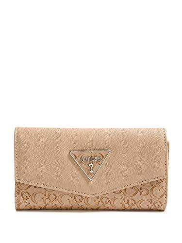 GUESS Factory Women's Desire Logo-Embossed Slim Wallet