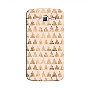 Cover It Up - Brown Pink Triangle Tile Galaxy Grand 2 G7106 Hard Case