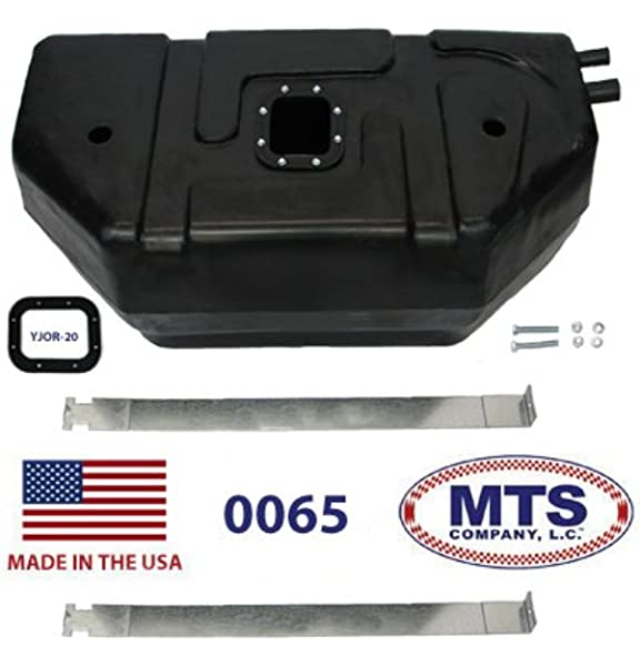 15 Gallons // 57 Liters Capacity For Jeep Wrangler YJ Fuel Tank 1987 88 89 1990 4 Cyl Silver 83502961 w//o seals Steel