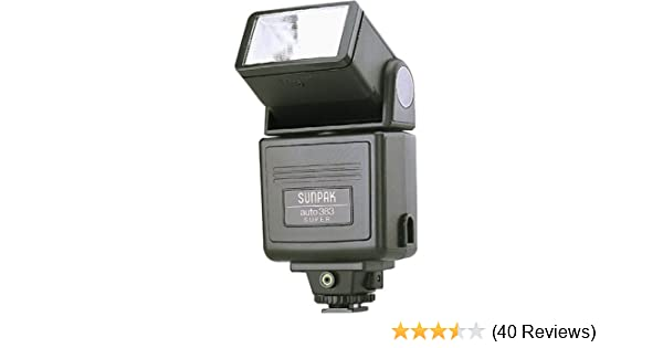 amazon com sunpak super 383 flash on camera shoe mount flashes rh amazon com Sunpak DigiFlash 3000 Review Sunpak DigiFlash 3000 Review