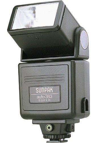 amazon com sunpak super 383 flash on camera shoe mount flashes rh amazon com Sunpak Flash 4500 Sunpak DigiFlash 3000
