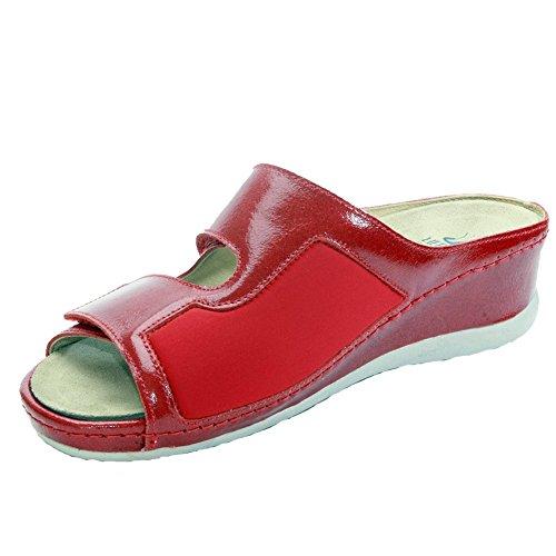 Sabatini Calzature , Damen Hausschuhe Rot