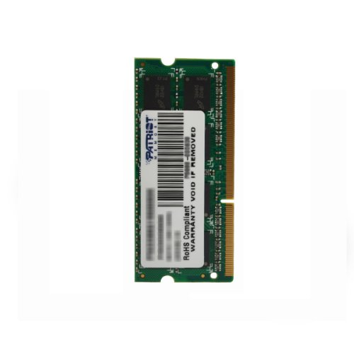 Patriot Signature 4 GB PC3-10600 (1333 MHz) DDR3 SODIMM Notebook Memory PSD34G13332S by Patriot (Image #1)