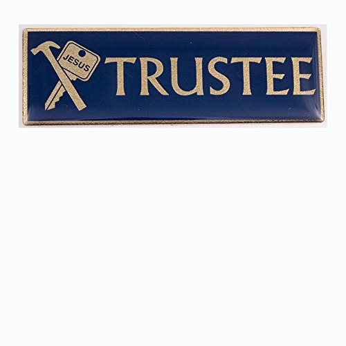 Trustee Magnetic Pin Badge for Church Officers - Organizations