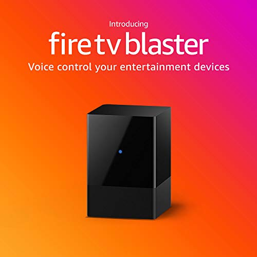 Fire TV Blaster – Add Alexa voice controls for power and volume on your TV and soundbar (requires compatible Fire TV and…