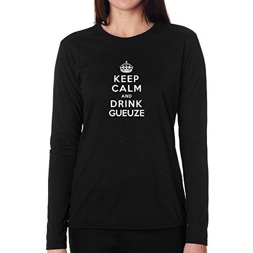 keep-calm-and-drink-gueuze-women-long-sleeve-t-shirt