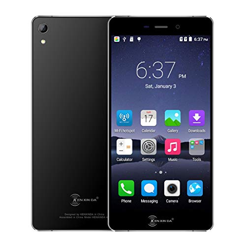 certainPL 5.2 inch Dual SIM Unlocked 4G Smartphone GSM/WCDMA/FDD-LTE, Android 6.0 Octa-Core 2G RAM+16GB ROM Touch Screen Cellphone WIFI GPS Bluetooth Call Mobile Phone, T-Mobile & Verizon (Black) by certainPL (Image #1)