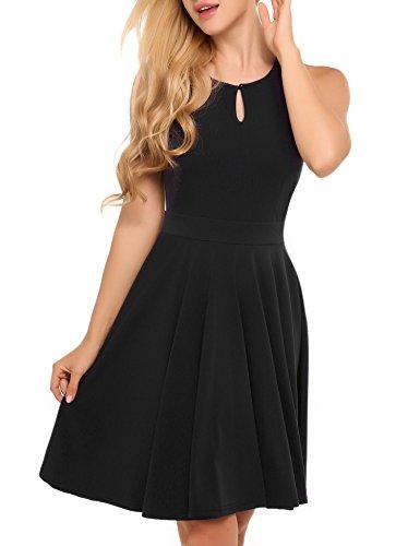ACEVOG-Womens-Sleeveless-Casual-Flare-Dress
