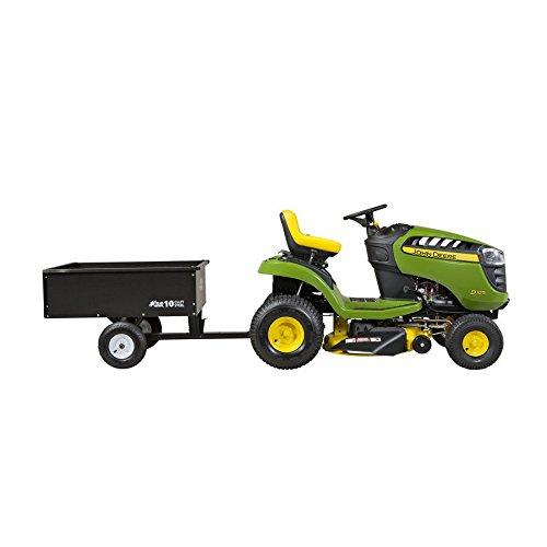 10cu ft Steel Dump Cart Garden Yard Wagon Lawn tractor Mower trailer Attachment by Nessagro (Image #3)