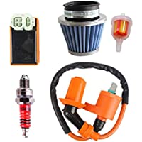 Ketofa GY6 Coil Racing Air Filter CDI Ignition for 50cc...