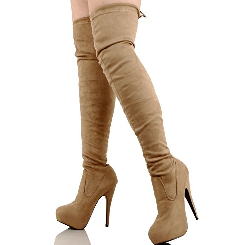 Guilty Shoes Knee Thigh High - Sexy Pull Up Stiletto - Hidden 1
