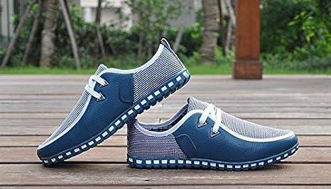 FQAXP Zapatos De Hombre Zapatillas De Conducción Hombre Pisos Slip On Mocasines Zapatos Planos Italianos Hombres: Amazon.es: Deportes y aire libre