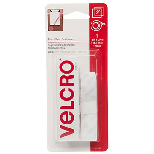 VELCRO Brand – Sticky Back – 18″ x 3/4 Tape – Clear Only $2.97