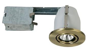 Eurofase TH-G01-0N 3-1/4-Inch Gimbal Housing/Trim Kit, Satin Nickel