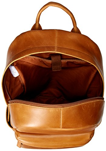 Timberland Men's Tuckerman Leather Backpack, Cognac by Timberland (Image #3)