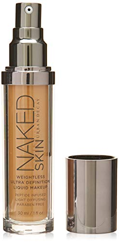 Urban Decay Naked Skin Weightless Ultra Definition 4.0 Liquid Makeup for Women, 1 Ounce (Best Liquid Foundation For Women Over 50)