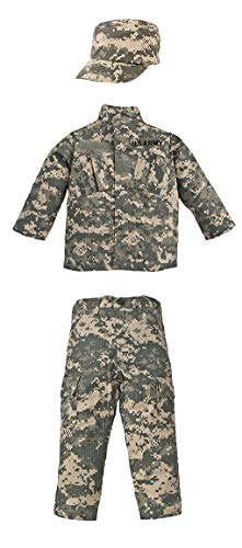 Kid's Military Fatigue Set in Army Digital A.C.U. Camo (MD) ()