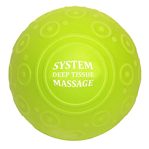 & Deep Tissue Massage Ball High Density EVA Foam Roller Ball for Back and Leg, Trigger Point Massage, Therapy, Stretching, Rehabilitation, Muscle Tension & Knots Eco Friendly ()