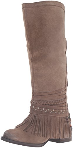 Naughty Monkey Women's Zarape Chelsea Boot, Taupe, 8.5 M US - Naughty Monkey Shoes Com