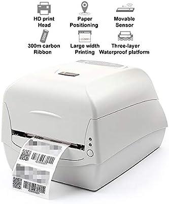 TANCEQI Impresora de Ticket Térmica, 110MM de Recibos Impresora ...