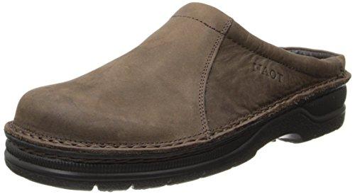 Naot Men's Bjorn Flat,Oily Brown Nubuck,45 EU/12-12.5 M US