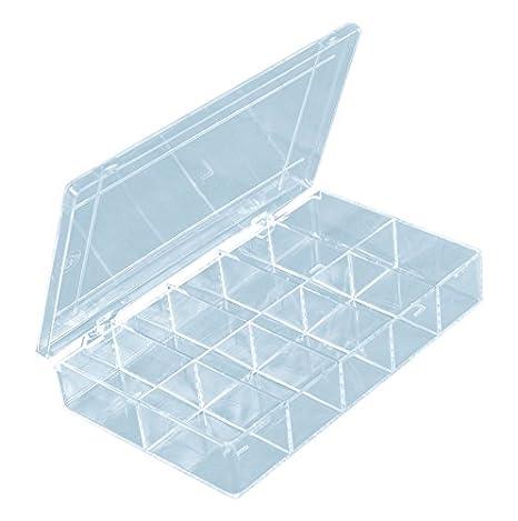 Sortierkasten 12,5 x 10 x 1,7 cm mit 10 Fächern