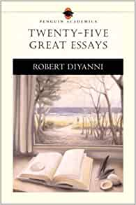 twenty-five great essays Encuentra twenty-five great essays (penguin academics series) de robert j diyanni (isbn: 9780205535569) en amazon envíos gratis a partir de 19.