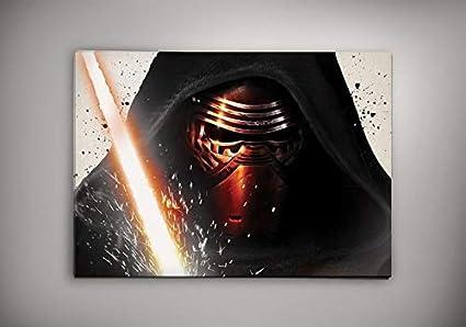 Amazon.com: Póster de Star Wars de Kylo Ren Mask para ...