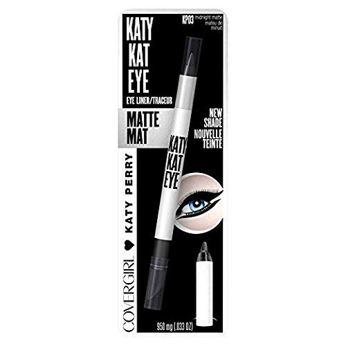 COVERGIRL Katy Kat Eye Liner, Midnight Matte, .033 oz