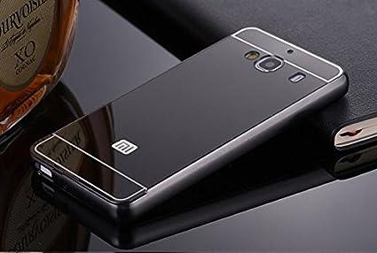 pretty nice e172b dba9f Xiaomi Redmi 2/ 2S/ Prime Case, JMV Luxury Metal Bumper: Amazon.in ...