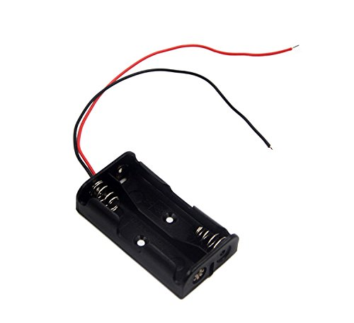 6 AA Battery Holder With Leads 9v AA Battery Holder LAMPVPATH Pack of 3 6 AA Battery Holder