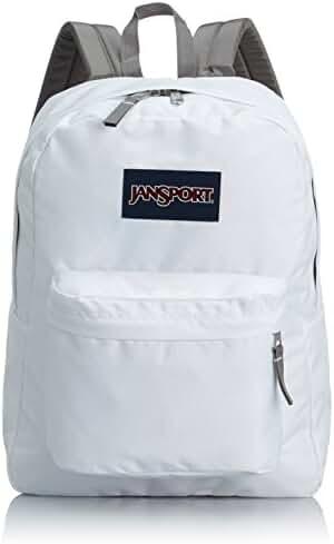 Jansport Superbreak Backpack (White)