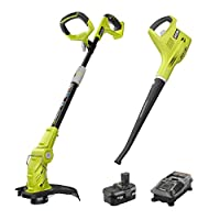 Deals on Ryobi ONE+ 18-Volt Trimmer/Edger and Blower/Sweeper Combo Kit