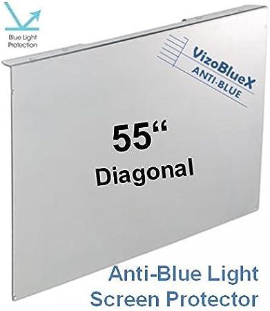 55 Pulgadas VizoBlueX Anti Luz Azul Monitor/TV Protector de ...