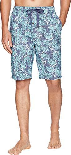 Tommy Bahama Men's Island Washed Cotton Woven Jam Shorts Leaves Large ()