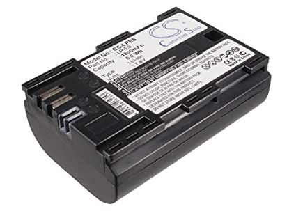 Amazon com: VINTRONS Replacement Battery For Canon EOS 7D