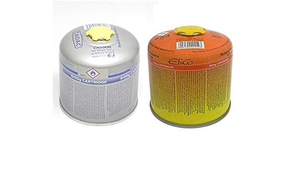 UNILIGHT - Cartucho de Gas (500 g, para hornillo de Gas ...